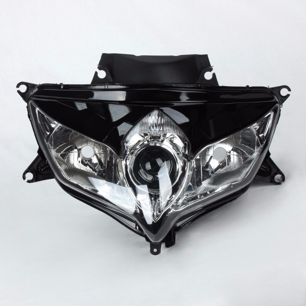 Headlight Headlamp Head Light Lamp For Suzuki GSXR 600 750 GSXR600 GSXR750 2008 2009 motorcycle front headlight for suzuki gsxr 600 750 gsxr600 gsxr750 2004 2005 k4 head light lamp assembly headlamp lighting parts