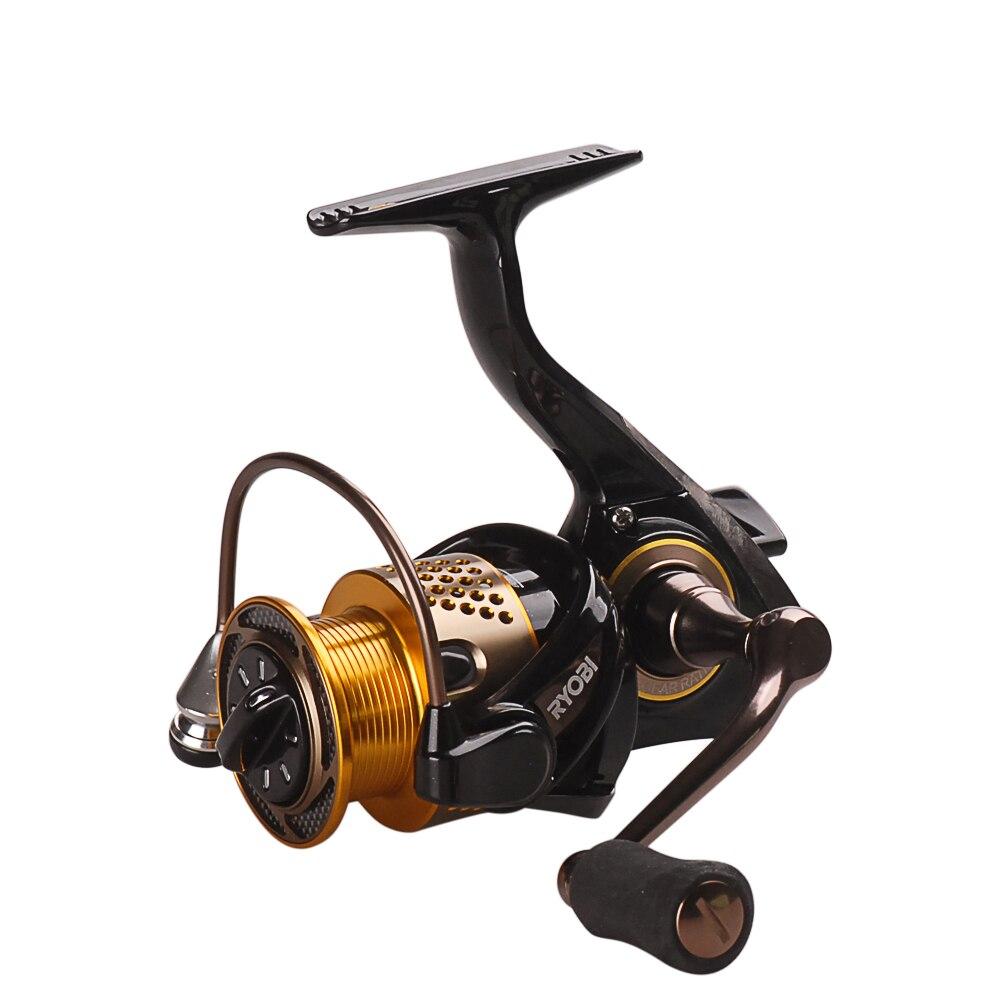 Original RYOBI Spinning Fishing Reel 6BB/5.1:1 LEGEND (SLAM) 1000-6000 Spinning Reel Carretes Pesca Moulinet Peche Carretilha ryobi kreger 1000