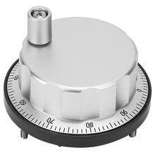 5V Universal Electronic Hand Wheel 100 Manual Pulse Generator CNC Rotary Encoder