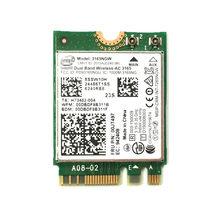 Intel 3165 NGFF 2x2 802.11AC + BT4.0/M.2 cartão Wi-Fi para E460 E560 B71 Yoga 310-11iap series FRU: 00JT497