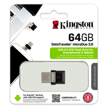 Kingston pendrive usb 3.0 otg pen-drive flash memory usb flash drive 64gb memoria usb