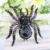 Bella Moda Design Preto Insect Aranha Broche Pin de Cristal Austríaco Broche de Strass Preto Chapeado para Mulheres Presente Do Partido
