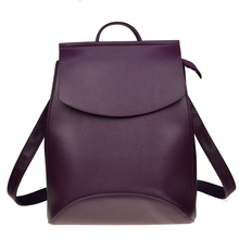 Moda kadın sırt çantası yüksek kaliteli PU deri gençler için sırt çantaları kızlar kadın okul omuzdan askili çanta sırt çantası mochila