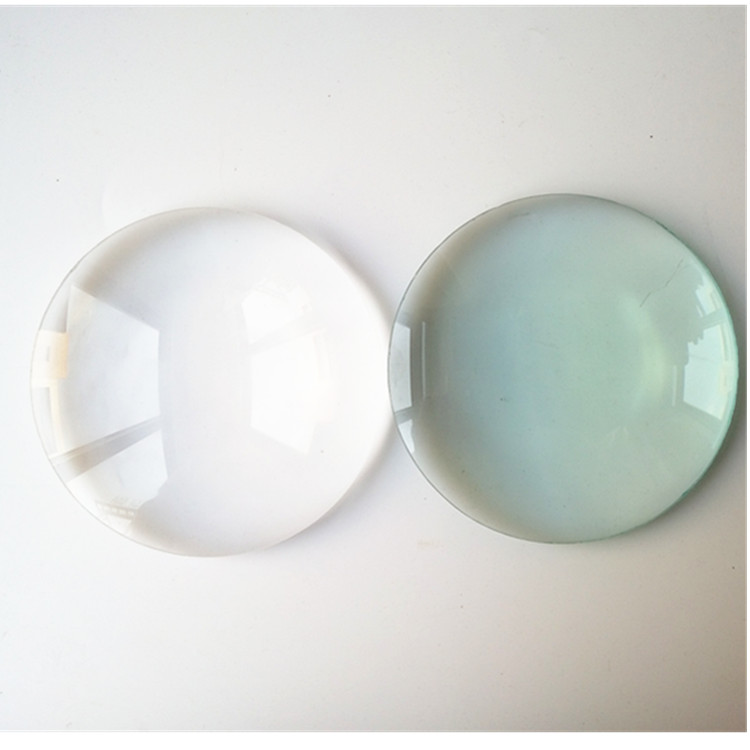 White Color 3X 5X 8X 10X Convex Lens Optical Lens Diameter <font><b>127mm</b></font> 97mm For Portable Magnifying Glass Magnifier image