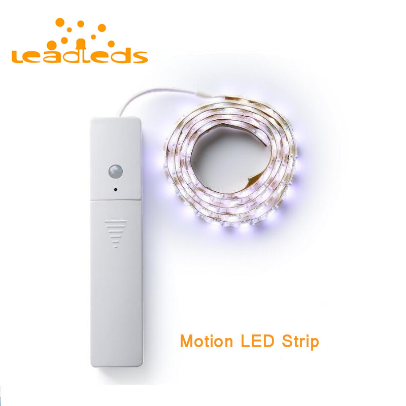 Super Bright Motion LED Strip Sensor Night light For Bedroom Bedside Crib Closet Home Decoration Atmosphere Light sales of new sensor light strip with high quality and convenient multi functional 3w 6w outdoor home decor led strip light lamps