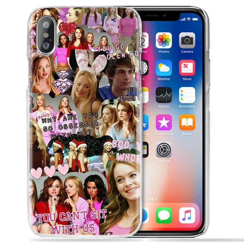 Ortalama kızlar yanık kitap iphone için kılıf XS Max XR X 10 11 7 7S 8 6 6S artı 5 5S S SE 5 4S 4 5C 6 + 6S + 7 + 8 + sert PC TV gösterisi telefon kapağı