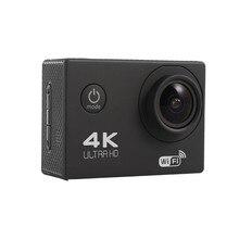 karue 4K Action Camera Original F60/F60R Remote WiFi 2.0 LCD 170D Len Helmet Cam Underwater Waterproof Camcorder 1080P@60fps