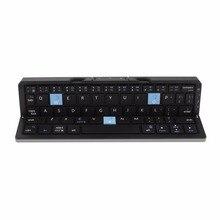 New Bluetooth font b Keyboard b font Travel Portable Folding Metal font b Keyboard b font