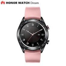 """Оригинальные уличные Смарт часы Huawei Honor Dream, изящные тонкие длинные часы с аккумулятором, GPS, научным тренером Amoled 1,2 """"390 p"""