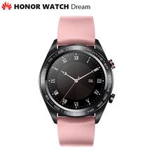 Oryginalny Huawei Honor zegarek sen na świeżym powietrzu smart Watch elegancki Slim długi czas pracy na baterii GPS naukowych trener Amoled 1 2 390 p tanie tanio Hiszpański Francuski Niemiecki Rosyjski Angielski Portugalski Włoski Kalendarz Stały Kalendarz Chronograph Budzik Tętna Tracker