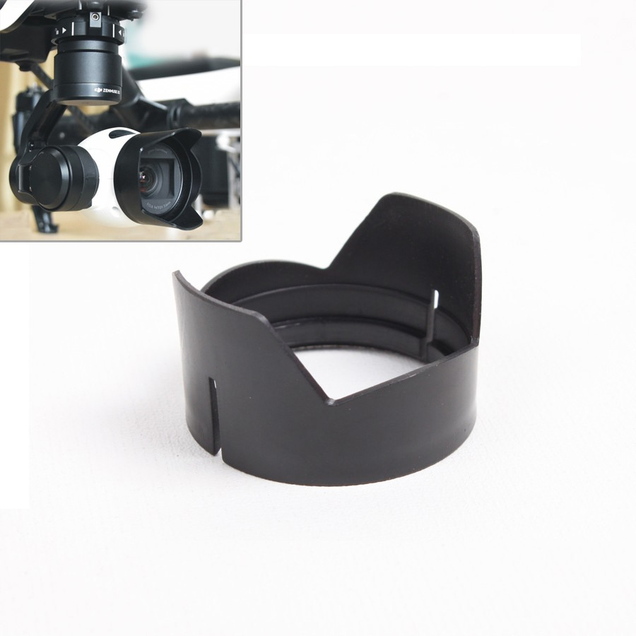 Lens Hood Sunshade Hood For DJI Inspire 1 OSMO Accessories Professional Camera Flower Lens Hood Sunshade Cap For DJI Inspire 1