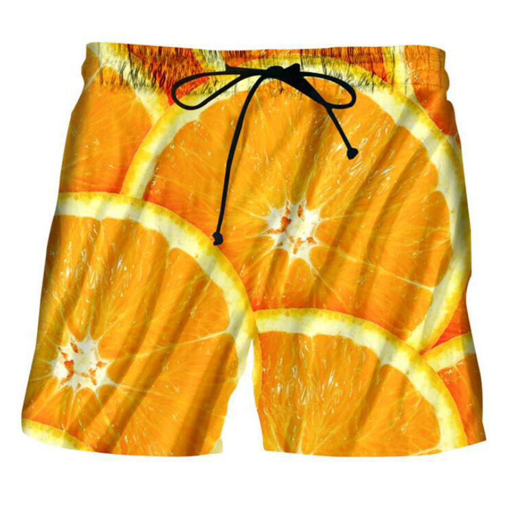 Animal Fruit Galaxy Print 3D   Short   Men Party Summer Beach   Board     Shorts   2019 New Design Club Punk Rock Street Swimwear Streetwear