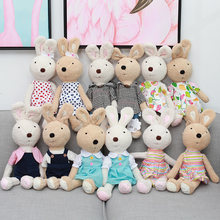 1pc Lovely Le Sucre Rabbit Plush Doll Soft Bunny Rabbits Stuffed Animals Plush Baby Toys for Children Girls Valentine's Gifts(China)