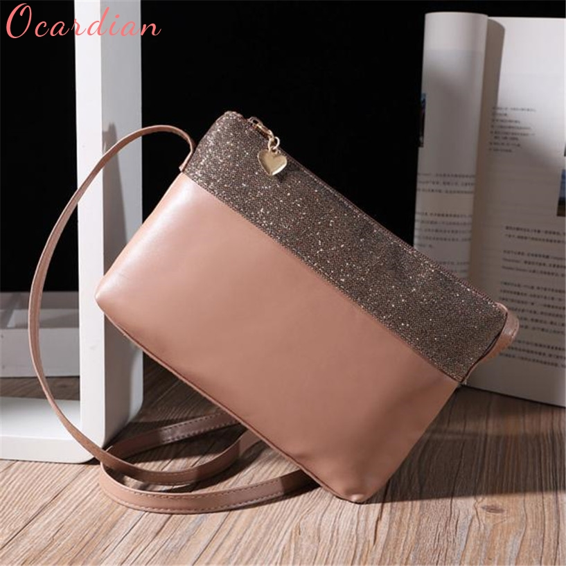 Ocardian NEW Women Bag women leather handbags Bolsa Feminina Leather Shoulder Bag Satchel Purse Hobo Messenger Bags 3#2