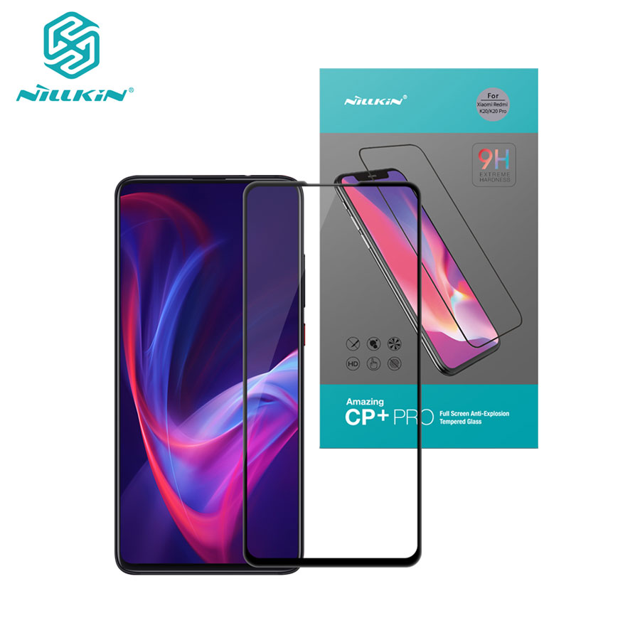 For Xiaomi Mi 9T Glass Nillkin XD CP+Pro Anti Glare Safety Protective Tempered Glass For Xiaomi Mi9T Mi 9T Pro