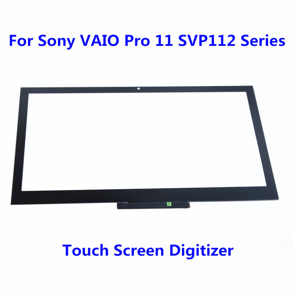 11.6 Touch Screen Digitizer Glass Panel Replacement Repairing Parts For Sony VAIO Pro 11 SVP112 Series SVP121M2EB SVP11215PXB original new genuine 11 6 inch tablet touch screen glass lens digitizer panel for hp x360 310 g1 replacement repairing parts