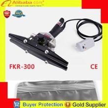 Пластиковый пакет термоуплотнительная машина ручной двойной нагрев уплотнитель алюминиевый структура Педальный герметик крафт-бумага Fkr-300