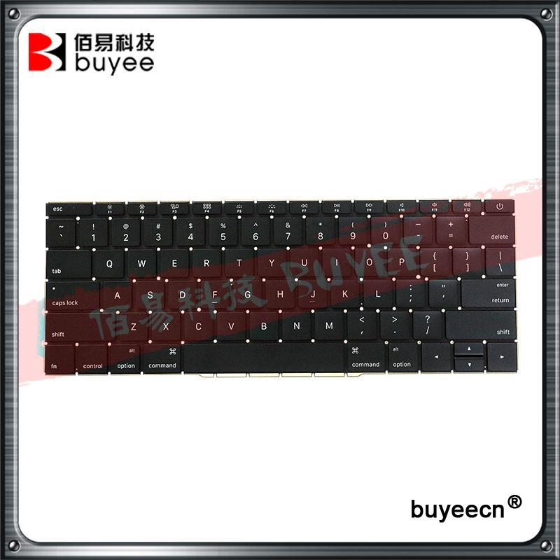 Original New Laptop US Layout Keyboards A1708 For Macbook Retina Pro 13 Inch English Version Keyboard 2016 Year Replacement original new laptop a1708 azerty layout fr keyboards for macbook retina pro 13 inch a1708 french keyboard 2016 year replacement