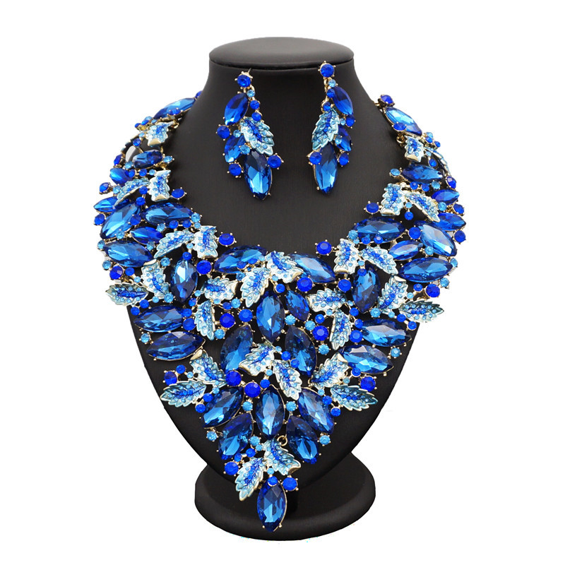 Sexemara African jewelry sets more indian jewelry nigeria shipping jewellery wedding jewelry necklace set jewelry women