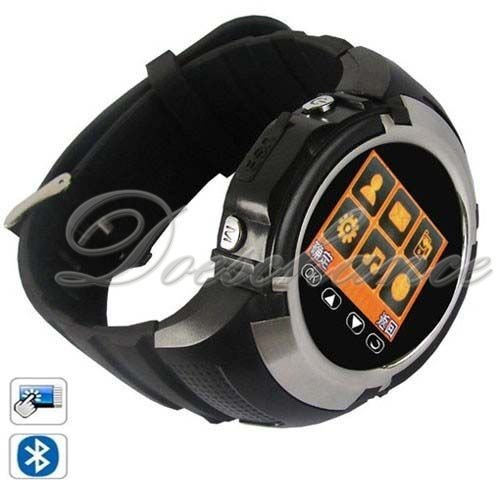 hot selling MQ222 Quad Band Bluetooth Touch Watch Phone With Camera