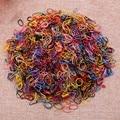 1000pcs/bag Child Baby Hair Holders Rubber Elastic Hair Bands Girls Hair Accessories