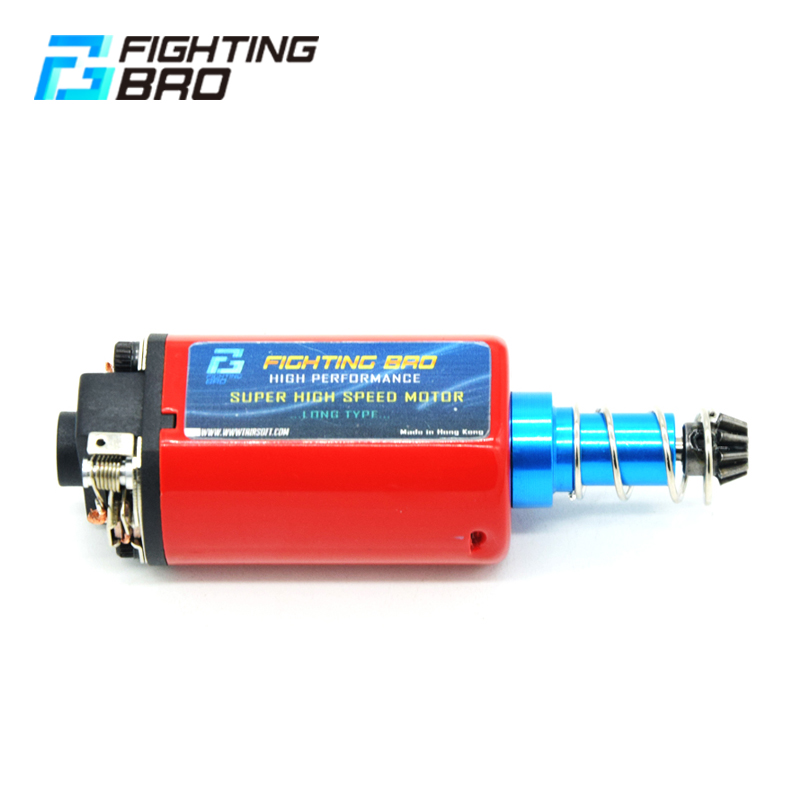 FightingBro MAX TORQUE MOTOR LONG TYPE High Torque Type Strong Magnet For Airsoft AEG Ver2 M4 AK