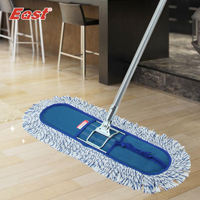 East Wood Floor Flat Mop Large Household 360 Degree Spin