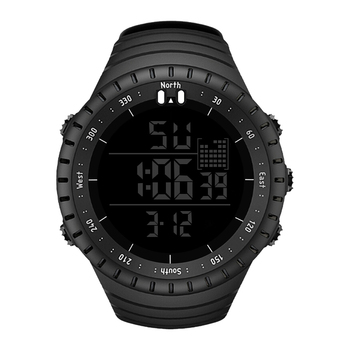 SENORS Sport Watch Men Outdoor Digital Watches LED Electronic Wristwatch Military Alarm Male Clock Digital 1