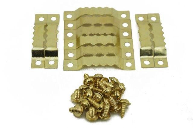 Aliexpress Buy 100pcslot Saw Tooth Hanging Bracket Clock