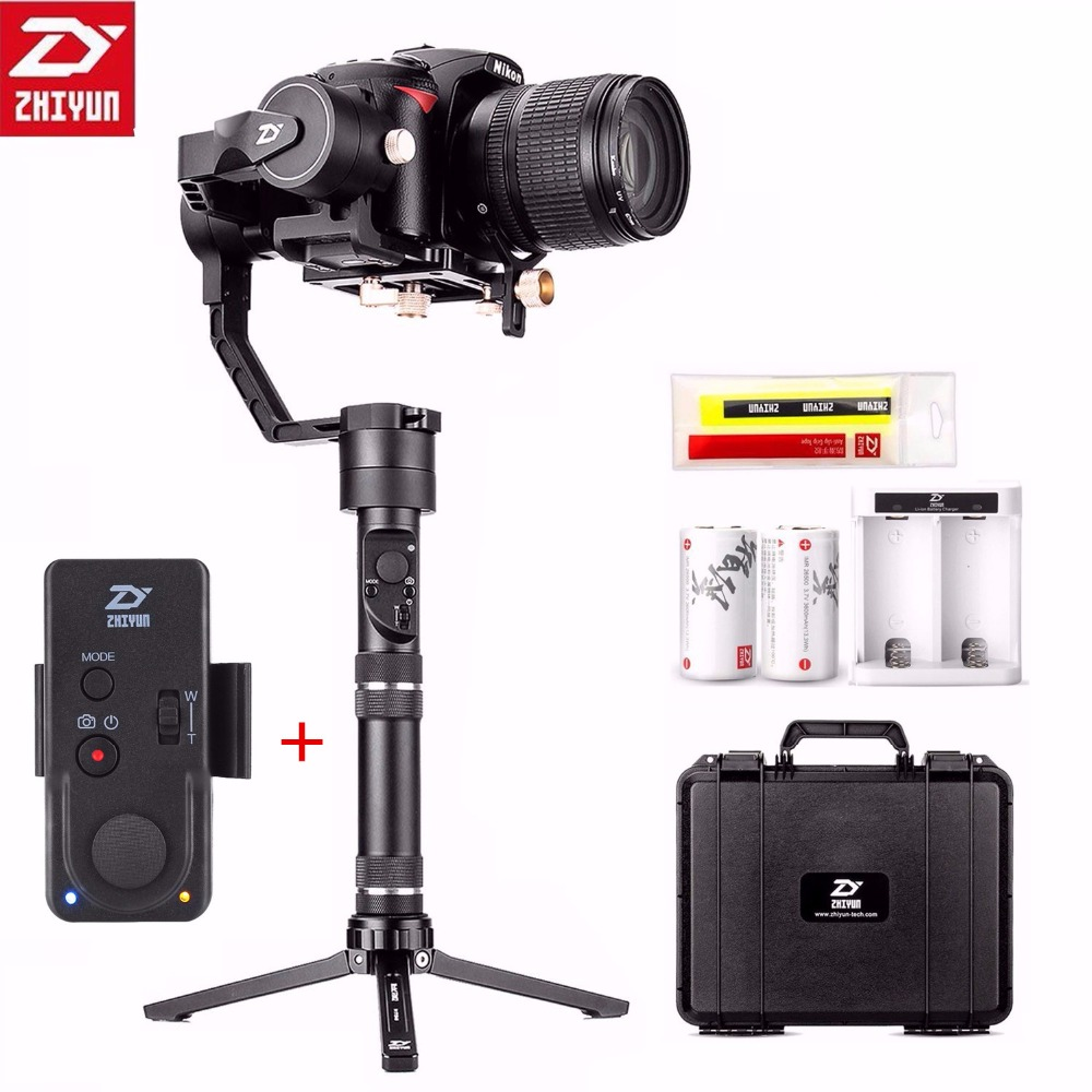 Zhiyun Crane Plus 3 Axis Handheld Gimbal Stabilizer 2.5KG 5.5lb Payload for Sony Panasonic Canon Nikon Dsrl Camera With Remote zhiyun crane plus 3 axis handheld gimbal stabilizer for sony canon nikon panasonic dslr camera pov 2 5kg payload object tracking