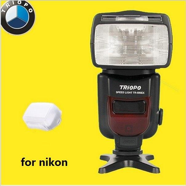 Us 655 Nowy Triopo Ddo Tr 586ex Bezprzewodowy Trybu Lampy Błyskowej Speedlite Ttl Nikon D7200 D5300 D7100 D90 D3100 D3200 Jako Yongnuo Yn568ex W