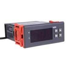 Cheaper Digital Temperature Controller thermal regulator thermometer thermostat digital Air Humidity Controller Temperature Instrument