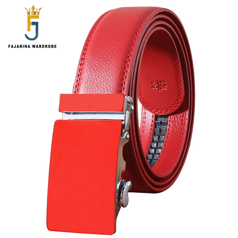 Fajarina Quality Crocodile Pattern Genuine Leather Cowhide S Letter Stainless Steel Automatic Buckle Metal Belts For Men Zdfj177 Back To Search Resultsapparel Accessories