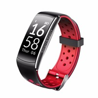 RYASFAN Q8 Smart Wristband IP68 Waterproof Heart rate Fitness tracker Smart Bracelet Wearable devices watch for iOS Android OS