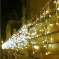 5 M 200 LEDs luzes LED pista de cordas pingente lâmpadas festival cortina natal horta 110 v - 220 v ue reino unido eua AU plug