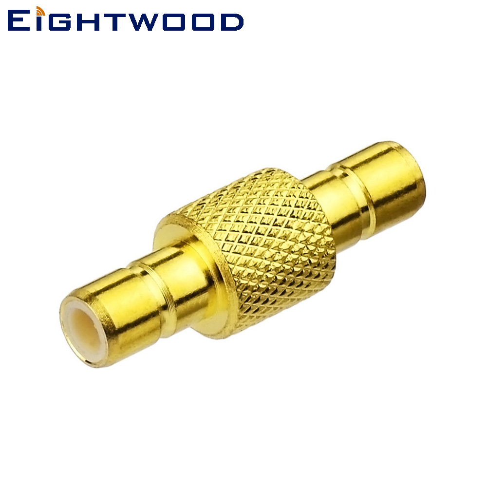 Eightwood Female Fakra to SMB satellite radio antenna adapter connector for  Sirius XM 2 Pieces