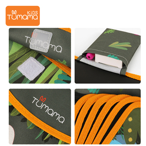 Image 3 - Tumama Cloth Books Portable Blackboard Book Can Repeatable Painting Educational Toys For Children Multifunction Montessori Toys