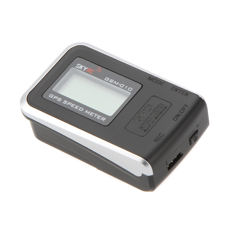 Original SkyRC High Precision GPS Speed Meter with LiPo Battery for Remote Control Hobbies Helicopter FPV