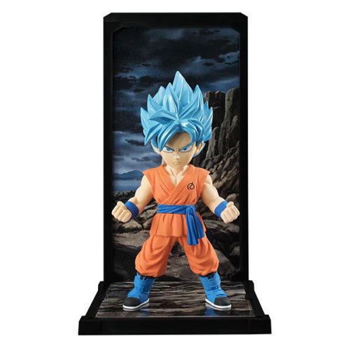 Dragon Ball Z Tamashii Nations Buddies Super Saiyan God Super Saiyan Son Figure 022 Collectible Mascot Toys 100% Original anime dragon ball super saiyan 3 son gokou pvc action figure collectible model toy 18cm kt2841