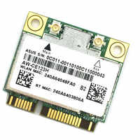 AzureWave AW-CE123H BCM4352 BCM94352HMB Half Mini PCIe PCI-express 802 11AC  867Mhz Wireless WIFI WLAN Bluetooth Card