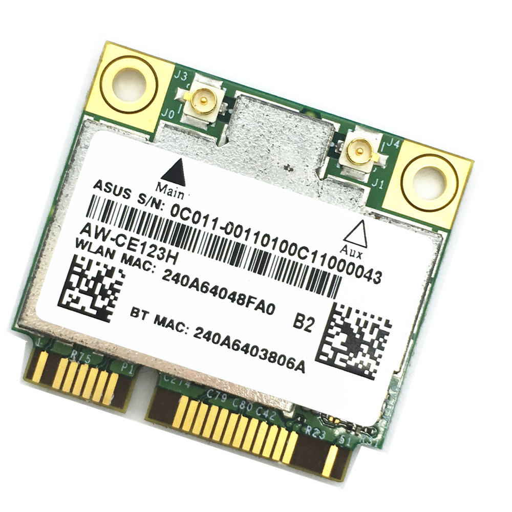 BCM94352HMB 802.11ac 867Mbps ثنائي النطاق 2.4 و 5G التيار المتناوب بلوتوث 4.0 BT4.0 واي فاي بطاقة لاسلكية ل هاكينتوش-في بطاقات الشبكة من الكمبيوتر والمكتب على title=