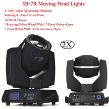 Moving Head LED Beam Stage Lighting 7R 230W Yodn Moving Head Light Professional DMX512 For Disco DJ Music Party KTV Nightclub