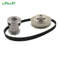LUPULLEY Timing Belt Pulley HTD3M Reduction 1 4 Timing Pulley 15T And 60T With 309 3M
