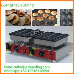 hot sale snack food machinery 50pcs mini Dutch pancake poffertjes grill waffle machine price