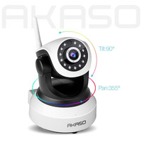 AKASO IP13M 903 HD 960P Wireless IP Camera Wifi Onvif Video Surveillance Security CCTV Network Wi