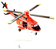 Pixar Planes Fire & Rescue Blade Ranger Deluxe Red Helicopter Metal Diecast Toy Plane 1:55 Loose New In Stock & Free Shipping
