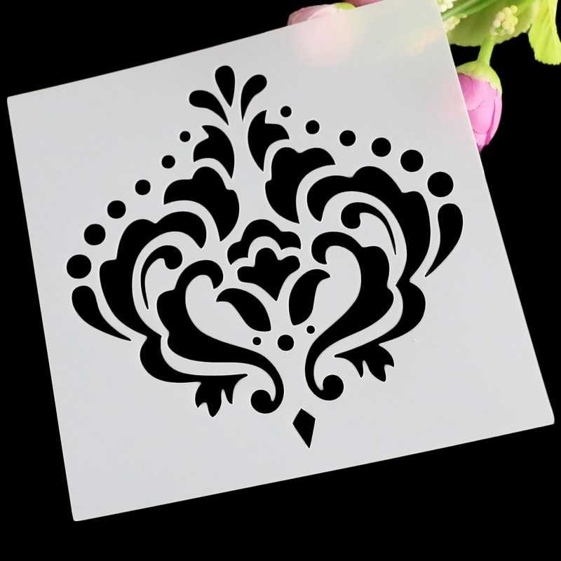 Crown Cake Design Decorative Layering Stencils For DIY Scrapbooking/Photo Album Decorative Embossing DIY Paper Cards Crafts