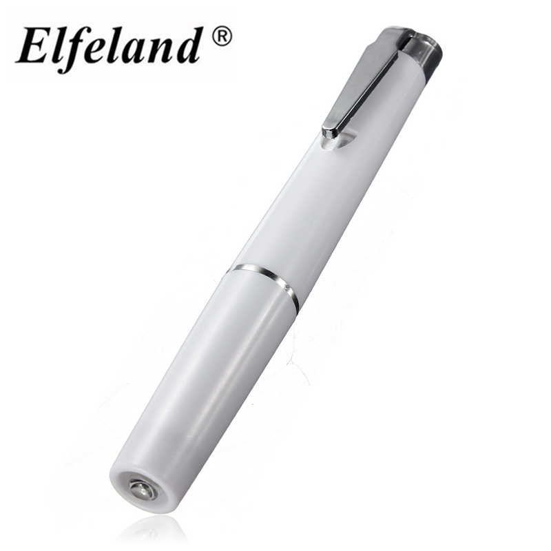 Elfeland Mini Medical First Aid Flashlight Surgical Doctor Nurse Emergency Pen Light for pocket Penlight Torch by 2 aaa battery nextorch flashlight ent 4 2 lumen aaa battery penlight for teeth inspection and ent care doctor k3