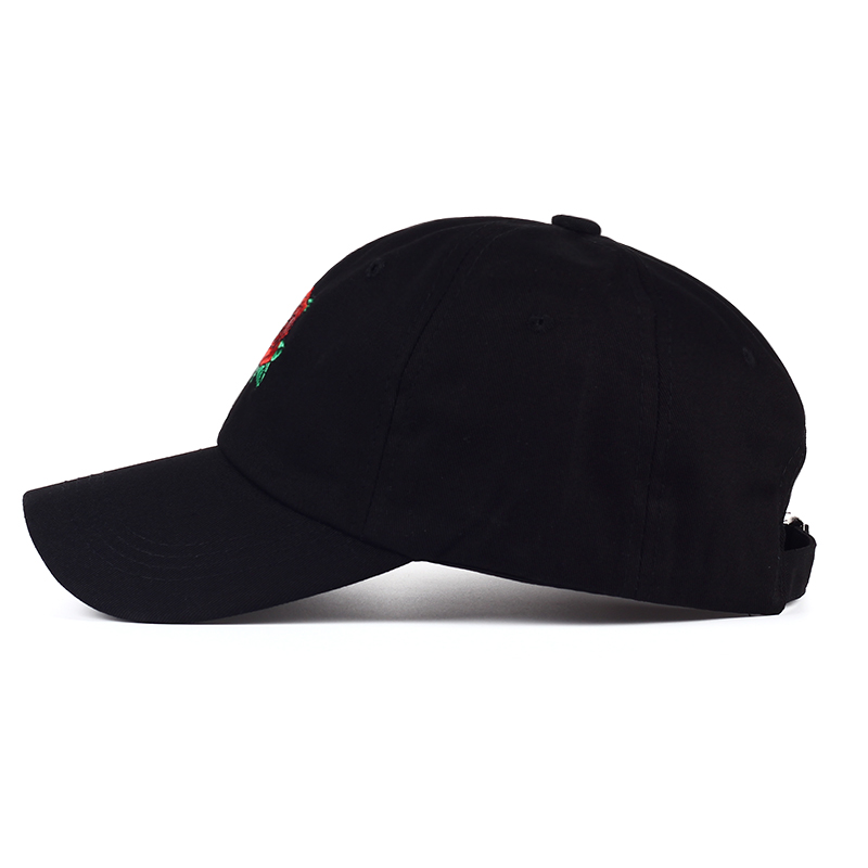 VORON 2017 New Hot Fashion Roses Men Women Baseball Caps Spring Summer Sun Hats for Women