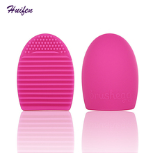 Brushegg Clean Brushes Makeup Wash Brush Silicone Glove Scrubber Cosmetic Foundation Powder Clean Tools (YP0144)